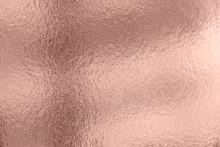 Shiny Pink Leaf  Foil Texture Background