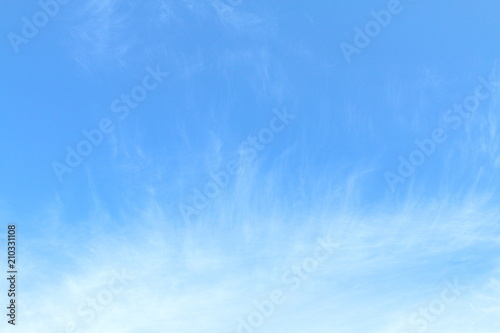In de dag Ochtendgloren Sky background, Sky clear, Sky blue Beautiful background, Sky with clouds