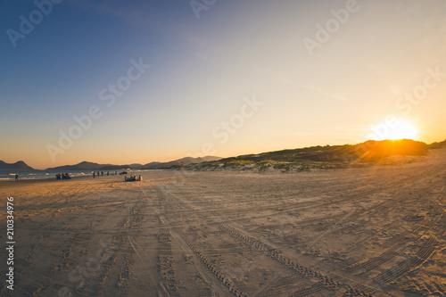 Papiers peints Route 66 Beach Sunset