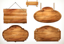 Wooden Board, Old Wood Vector ...