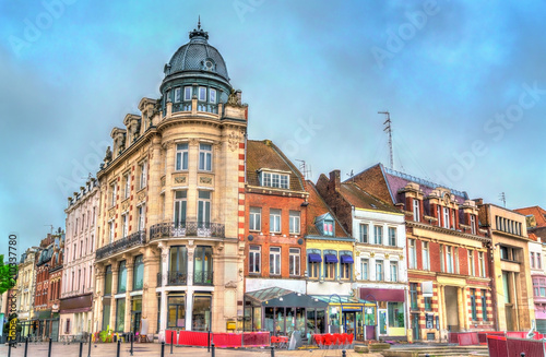 Photo Stands Paris Buildings in Tourcoing, a town near Lille in Northern France
