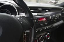 Interior Of A Sport Car