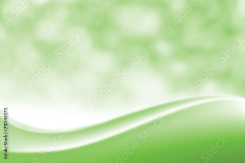 Blurred Smooth Green Elegant Soft Beauty Background Luxurious Cosmetic Backdrop Bokeh Light Shade