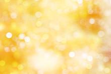 Yellow Blurred Background.