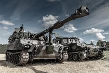 War Machines On The Battlefield