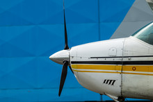 Small Sport Aircraft Parked In...