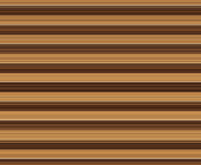 Wide Bands Of Brown Striped Background. Background Of Shades Of Brown Stripes Of Varying Widths. Muted Light Colors Recede For An Illusion Of Ridges, Or Of Poles If Oriented Vertically.