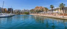 Alicante Harbor Spain