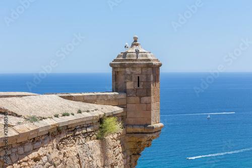 Foto Castillo de Santa Barbara alicante spain