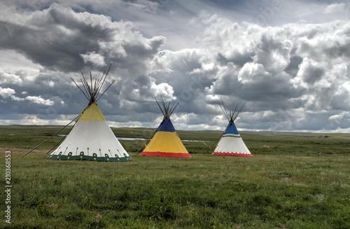 Fotografie, Obraz  Outside Glacier National Park, Montana, USA