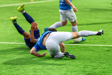 Soccer Players Play Bad Footba...