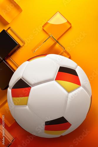 Fussball Deutschland Flagge Fahne Buy This Stock