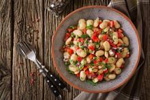 White Bean Cannellini Salad. V...