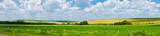 Fototapeta Landscape - panorama beautiful view landscape field