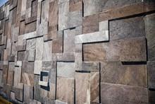 Mosaic Of Stone Squares