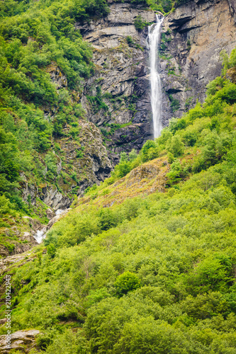 Foto op Plexiglas Noord Europa Waterfalls innorwegian mountains