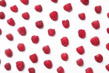 Delicious Ripe Raspberries On ...
