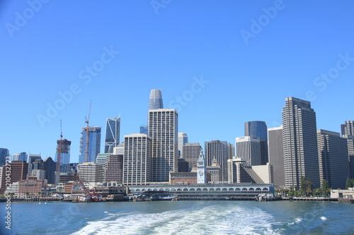 Keuken foto achterwand San Francisco Morning view of the Financial District in San Francisco