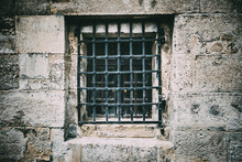 Ancient Window With Grating