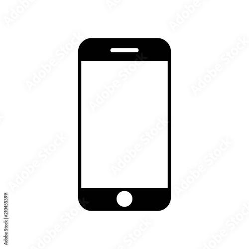 Cuadros en Lienzo  Smartphone icon vector icon