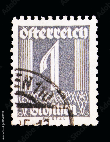 Fotografia  Numerals, Figures serie, circa 1925