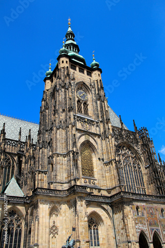 Staande foto Praag Veitsdom zu Prag
