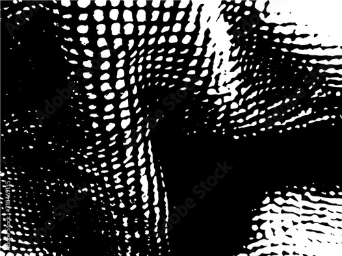 Fotobehang Vrouw gezicht Grunge pattern Textured background, design element to create spectacular illustrations or parsing on the brush Vector illustration