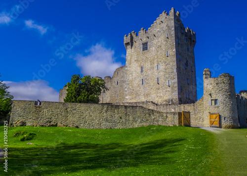 Poster Landscapes Ross Castle in Killarney - a famous landmark