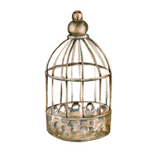 Vintage Cage For The Bird. Iso...