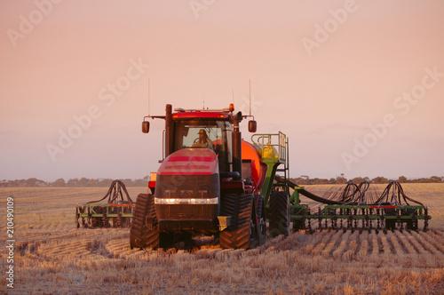 Seeding time