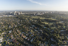 Aerial View Of Beverly Hills R...