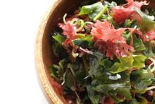 Japanese Food, Seaweed And Aga...