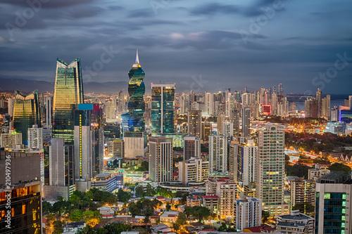Canvas Prints Kuala Lumpur Panama Financial Center