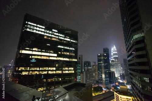 Fotobehang Kuala Lumpur クアラルンプールの都市風景