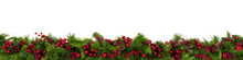 Christmas Garland Border With ...