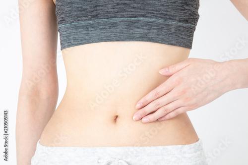 Fototapeta 腹部 女性