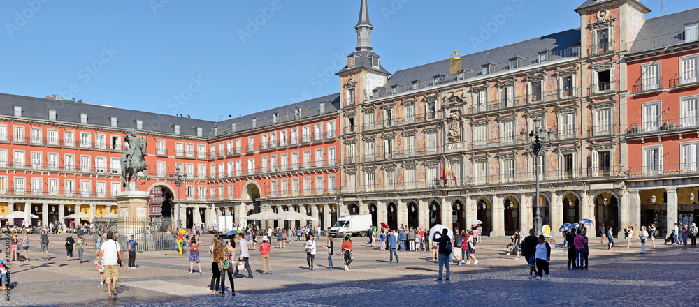 Fototapeta  Plaza Mayor in Madrid, Spain