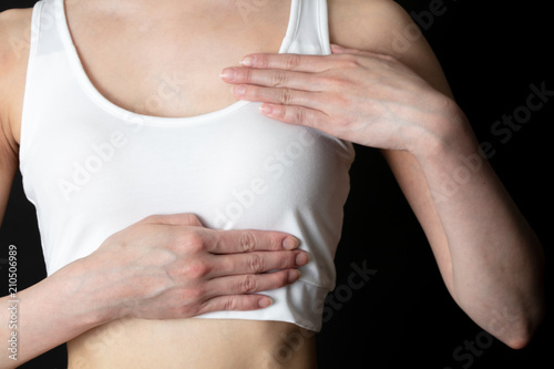 Cuadros en Lienzo 乳癌 セルフチェック
