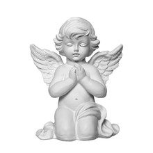 Angel Isolated On White Backgr...