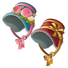 A Set Of Vintage Ladies Hats I...