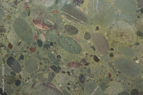 Canvas Prints Marble Greeny granite background for your strict design.