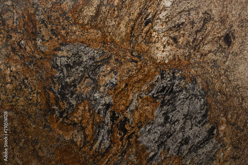 Canvas Prints Marble Spectacular granite background in ideal brown tone.