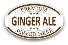 Brown Premium Ginger Ale Paper...
