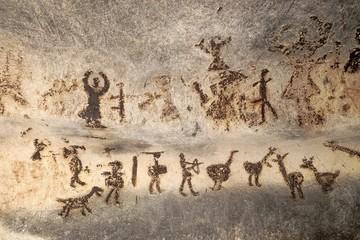 Prehistoric Paintings Of Magura Cave, Bulgaria