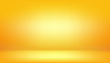 Yellow Background, Abstract Gr...