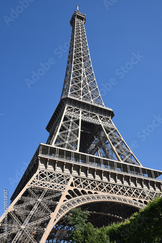 Deurstickers Eiffeltoren Tour eiffel à Paris