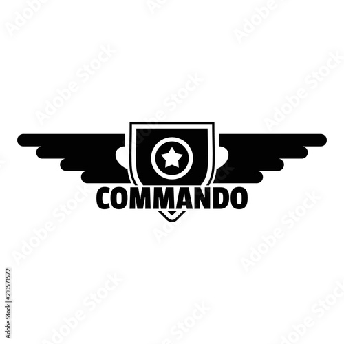 Fotografía  Commando star logo