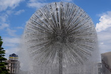 Fountain In The Form Of A Ball