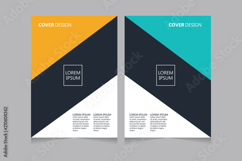 annual report pamphlet presentation brochure front page book