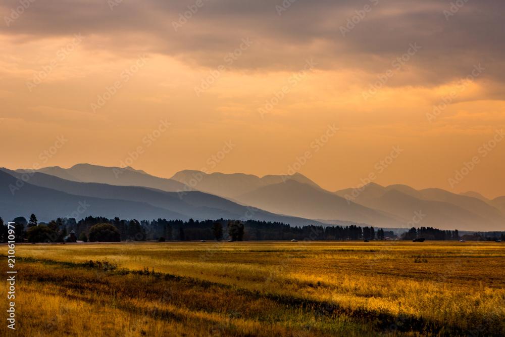 Fototapety, obrazy: Beautiful Montana Landscape